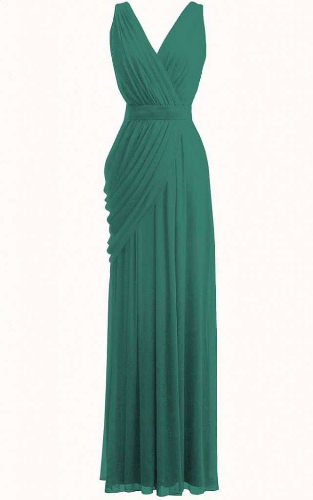 bridesmaids dresses selection, sgturningpoint.com, vneck dress