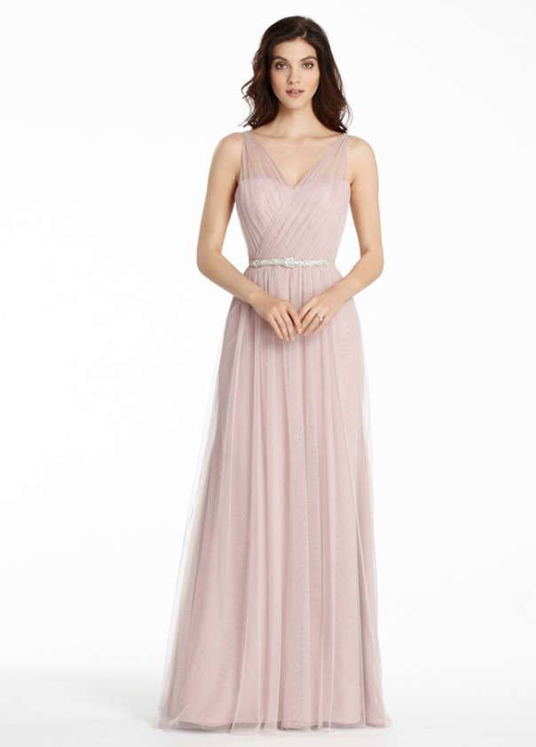 httpwww.aislestyle.co.uk:pink-illusion-v-neck-aline-tulle-long-bridesmaid-dress-p-5505.html